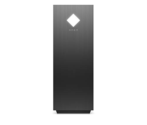 OMEN GT12-0009ng Gaming Desktop (AMD Ryzen 9-3900, HyperX XMP 16GB DDR4 RAM, 1TB HDD, 512GB SSD, Nvidia GeForce RTX 2060 Super 8GB GDDR6, Windows 10) schwarz mit Seitenfenster