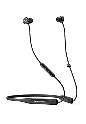 beyerdynamic Blue BYRD (2. Generation) Bluetooth 5.2 In-Ear Kopfhörer mit Neckband, Mikrofon, 14 Stunden Akkulaufzeit, IPX4, Klangpersonalisierung und Alexa Built-In