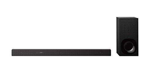 Sony HT-ZF9 3.1-Kanal Dolby Atmos/DTS:X Soundbar (Vertical Surround Engine, WiFi, High-Resolution Audio, Subwoofer, funktioniert mit Amazon Alexa)
