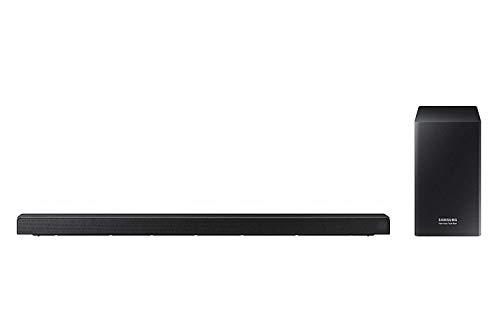 Samsung Harman/kardon 5.1-Kanal Soundbar HW-Q60R (integrierter Subwoofer, Bluetooth, Surround Ready - Kompatibel mit SWA-8500S, Game Mode Pro) Kohlschwarz