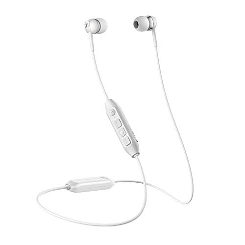 Sennheiser CX 350BT Kabelloser Ohrhörer mit Nackenband, Weiß