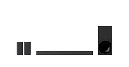 Sony HT-S20R 5.1 TV-Soundbar Dolby Surround mit kabelgebundenem Subwoofer und hinteren Lautsprechern, Schwarz
