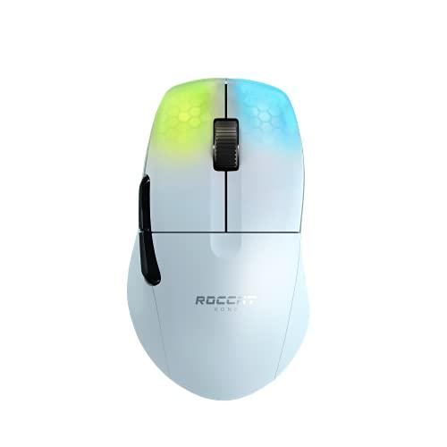 Roccat Kone Pro Air - Ergonomic Performance Wireless Gaming Maus, weiß