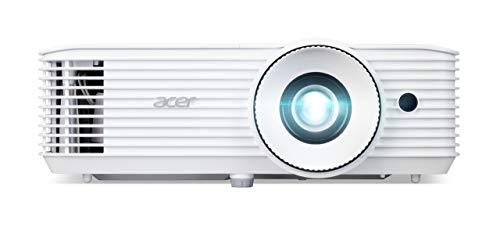 Acer H6800a (DLP Beamer (4K UHD (3.840 x 2.160 Pixel) 3.600 Lumen 10.000:1 Kontrast, 3D, Keystone, 1x 10 Watt Lautsprecher, HDMI (HDCP), Audio Anschluss) Home Cinema