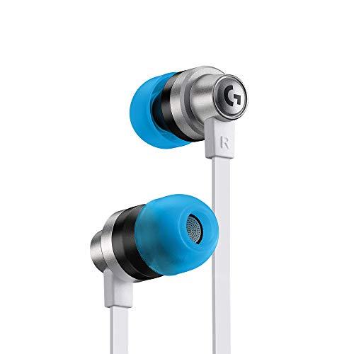 Logitech G333 K/DA Gaming-Kopfhörer mit In-Line-Mikrofon und Bedienelementen, Dual-Treiber, LoL Gaming-Zubehör für PC, Mobil, PS, Xbox, Nintendo mit 3,5 mm Aux- oder USB-C-Anschluss - Weiß