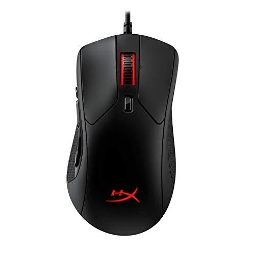 HyperX HX-MC005B Pulsefire Raid - Ergonomische - 11 programmierbare Tasten RGB Gaming Maus Mouse