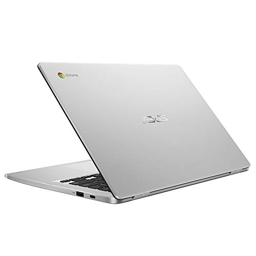 ASUS Chromebook C423NA (90NX01Y1-M05240) 35.5 cm (14 Zoll, Full HD, IPS-Level, NanoEdge, Touch) Notebook (Intel Celeron N3350, Intel HD-Graphics 500, 8GB RAM, 64GB eMMC, Chrome OS) Silver