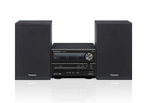 Panasonic SC-PM250EG-K Micro-mit HiFi-System (Bluetooth, CD, UKW, 20 W RMS) schwarz