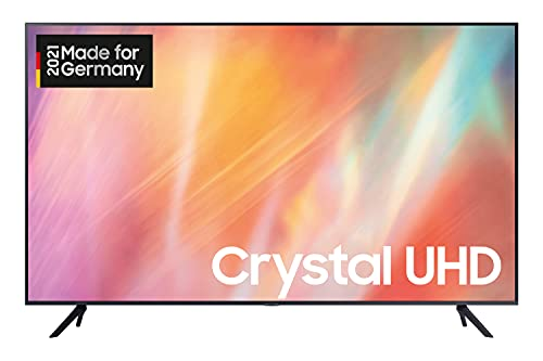 Samsung Crystal UHD 4K TV 50 Zoll (GU50AU7179UXZG), HDR, Q-Symphony, Boundless screen [2021]