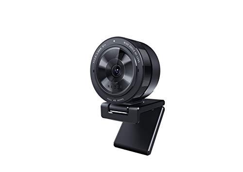 Razer Kiyo Pro Streaming Webcam: unkomprimiert 1080p 60fps - Leistungsstarker adaptiver Lichtsensor - HDR-fähig - Weitwinkelobjektiv mit einstellbarem Sichtfeld - Blitzschnelles USB 3.0
