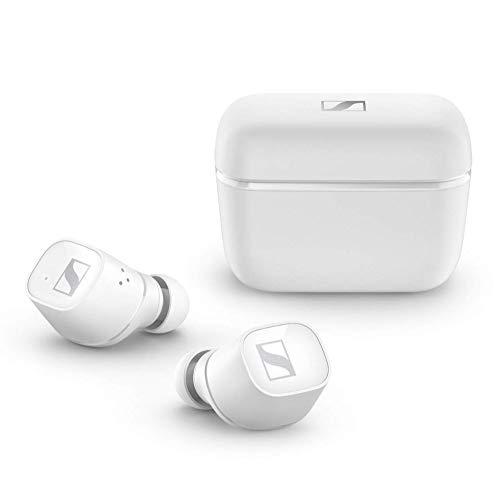 Sennheiser CX 400BT True Wireless Earbuds - Bluetooth In-Ear Kopfhörer zum Musik hören und Telefonieren - Passive Noise Cancellation und anpassbare Touch-Control, weiß