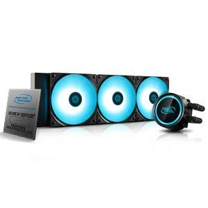 DeepCool Gammaxx L360 RGB V2 Anti-Leak Kühlsystem 360 mm Kühler RGB SYNC 12V 4-Pin kompatibel mit Intel 115X/2066 und AMD AM4