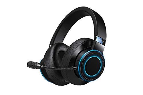 Creative SXFI AIR Gamer - USB-C-Gaming-Headset mit Bluetooth 5.0, ANC CommanderMic, SXFI Battle Mode optimiert für FPS, 11 Stunden Akkulaufzeit, GamerChat kompatibel mit PC, PS4 und Nintendo Switch