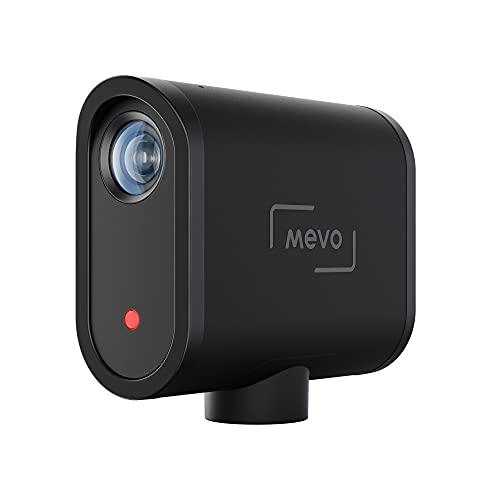 Mevo Start Kabellose Live-Streaming-Kamera - 1080p Full HD, Integriertes Mikrofon, App-Steuerung, Streaming auf YouTube, Facebook, Twitch, Zoom über LTE oder Wi-Fi, In Schwarz