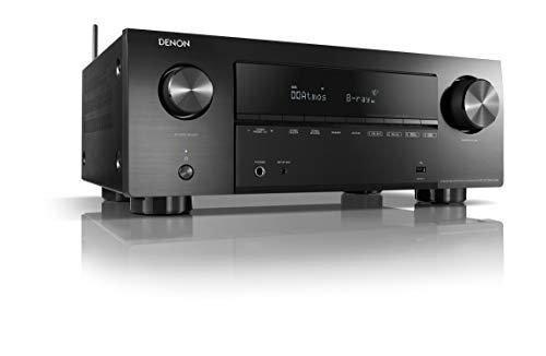 Denon AVR-X2700HDAB 7.2-Kanal AV-Receiver, Hifi Verstärker, Alexa kompatibel, 6 HDMI Eingänge und 2 Ausgänge, 8K-Video, Bluetooth, WLAN, Musikstreaming, Dolby Atmos, AirPlay 2, HEOS Multiroom