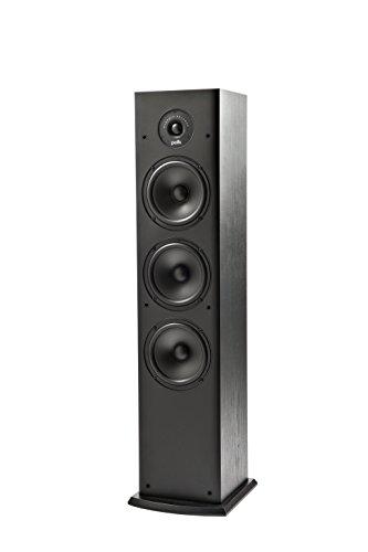 Polk Audio T50 Standlautsprecher, HiFi Lautsprecher für Musik und Heimkino Sound, passiver Full Range Lautsprecher, 20 - 150 Watt, 8 Ohm, 38Hz – 24kHz (Stück)