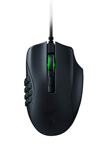 Razer Naga X Ergonomic MMO Gaming Mouse with 16 Buttons