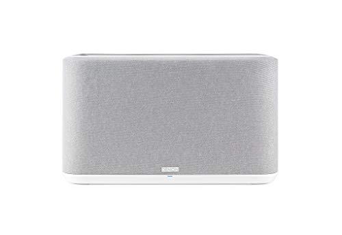 Denon Home 350 Multiroom-Lautsprecher, HiFi Lautsprecher mit HEOS Built-in, WLAN, Bluetooth, USB, AirPlay 2, Hi-Res Audio, Alexa kompatibel, weiß