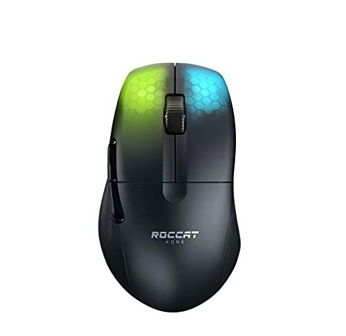 Roccat Kone Pro Air - Ergonomic Performance Wireless Gaming Maus, schwarz