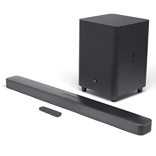 JBL Bar 5.1 Surround – Sound Bar mit Subwoofer in Schwarz – Mit MultiBeam-Technologie, Chromecast & Airplay 2
