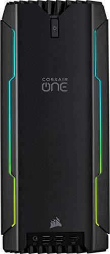 Corsair ONE i164 Kompakter Gaming-PC (Intel Core i9-9900K, NVIDIA GeForce RTX 2080 Ti 11GB GDDR6 mit Flüssigkühlung, 960GB NVMe M.2, 2TB HDD, 32GB (2x16GB) Corsair Venegance LPX DDR4 2666MHz) Schwarz