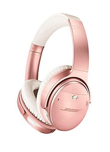 Bose QuietComfort 35 (Serie II) kabellose Kopfhörer, Noise Cancelling, mit Alexa-Sprachsteuerung, Roségold