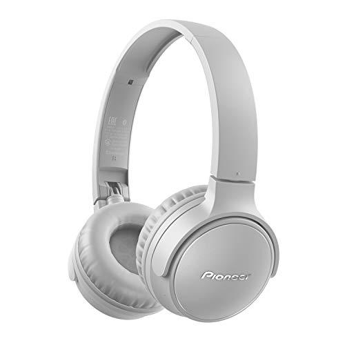 Pioneer S3 Wireless On-Ear Bluetooth 5.0 Kopfhörer (faltbar, 25 Stunden Akku, Schnellladefunktion, Freisprecheinrichtung, Lautstärkenregelung), Grau, One Size, SE-S3BT(H) CZU