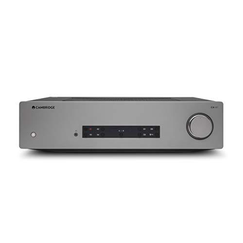 Cambridge Audio CXA81 Integrierter Stereo-Verstärker – aptX HD Bluetooth, 80 Watt pro Kanal, Digitale und analoge Eingänge, USB