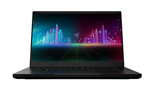 Razer Blade 15 Gaming Laptop 2020: 15,6 Zoll Full HD 120Hz Basis Modell, Intel Core i7 10th Gen, NVIDIA GeForce GTX 1660 Ti, 16GB RAM, 256GB SSD, Chroma RGB Beleuchtung | Qwertz DE-Layout