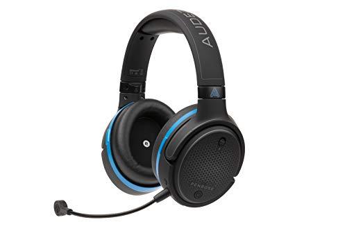 Audeze Penrose kabelloses Gaming-Headset für PlayStation 4 und 5, Mac, Windows, Switch, Skype, Zoom mit kabelloser Verbindung mit geringer Latenz und Bluetooth