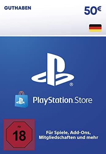 PSN Guthaben-Aufstockung | 50 EUR | deutsches Konto | PS5/PS4 Download Code