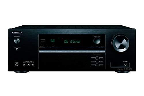 Onkyo TX-SR494DAB 7.2-Kanal AV Receiver (Bluetooth, DTS:X, Hi-Res, Dolby Atmos, DAB+), Schwarz