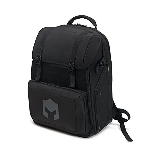 CATURIX CUMBATTANT - Gaming-Rucksack für Laptops und Konsolen bis 17,3', wasserabweisender Rucksack mit 38l Volumen, schwarz