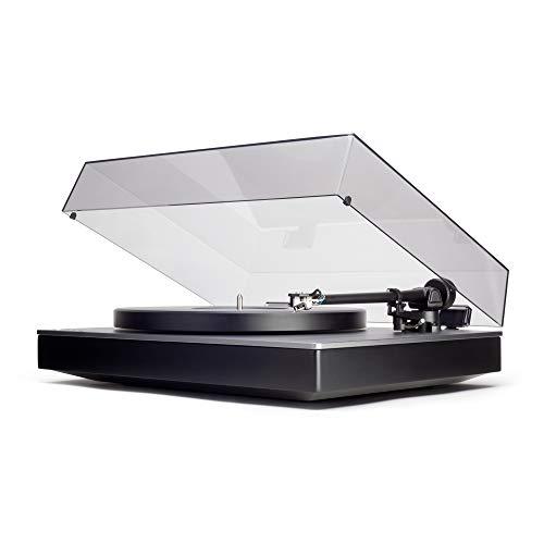 Cambridge Audio Alva TT Direktantrieb Plattenspieler mit Bluetooth aptX HD - Integrierter Phono-Vorverstärker, Direktantrieb, Vorinstallierter MC-Tonabnehmer (Lunar Grey)
