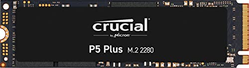Crucial P5 Plus CT1000P5PSSD8 1TB Solid State Laufwerk (PCIe 4.0, 3D NAND, NVMe, M.2), bis zu 6600MB/s