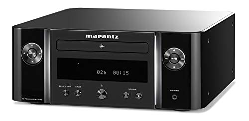 Marantz Melody (M-CR412) HiFi Anlage, CD-Player, DAB+ Radio, Bluetooth, 2 Optische TV-Eingänge, USB-Eingang, Schwarz