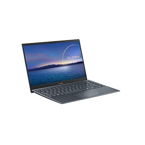 ASUS ZenBook 13 OLED UX325 33,78cm (13,3 Zoll, OLED FHD,Glare) Notebook (Intel i7-1165G7, 16GB RAM, 512GB SSD, Shared Grafik, Windows 10) Pine Grey