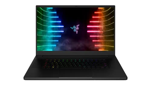 Razer Blade Gaming Laptop 17 4K Touch 120Hz GeForce RTX 3080 Black German Layout