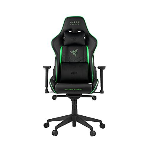 RAZER License TAROK PRO - RAZER™ Edition Gaming Chair by Zen Gaming Stuhl, Schwarz/Grün