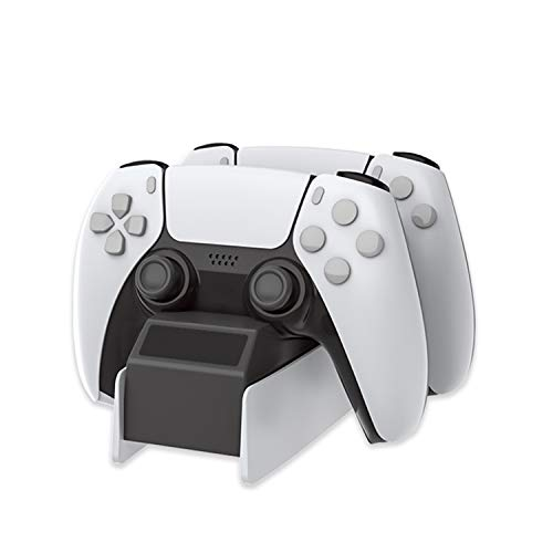 YoMaris USB-Ladestation für PS5-Controller, Ladedock Kompatibel mit Playstation 5 Dualsense.