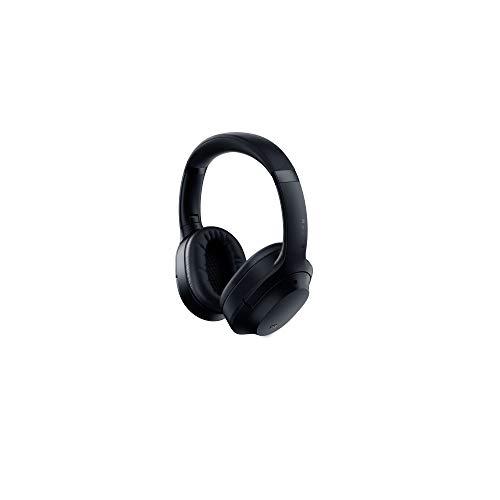 Razer Opus - Kabelloser Kopfhörer mit THX-Zertifikat und aktiver Rauschunterdrückung ANC (Wireless Headset, Bluetooth, bis 40 Stunden Akku, Mikrofon, Umgebungsmodus) Schwarz