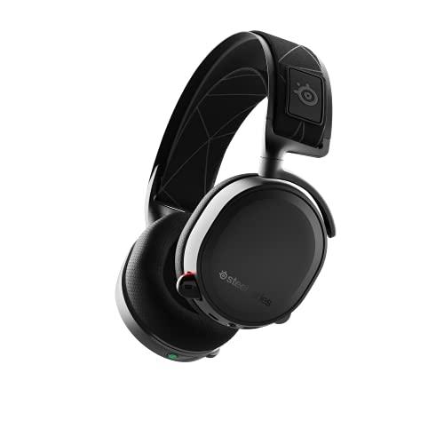 SteelSeries Arctis 7 - Gaming Headset - verlustfreies und drahtloses - DTS Headphone:X v2.0 Surround - für PC, Playstation 5 und PlayStation 4 - Schwarz