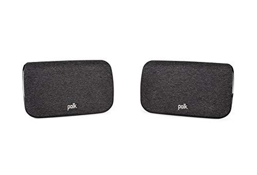 Polk Audio SR2 kabellose Surround Lautsprecher für Polk React und MagniFi 2 Soundbar