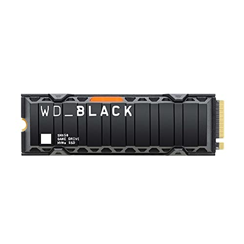 WD_BLACK SN850 1TB NVMe Internal Gaming SSD; PCIe Gen4 Technology, up to 7000 MB/s read speeds, M.2 2280