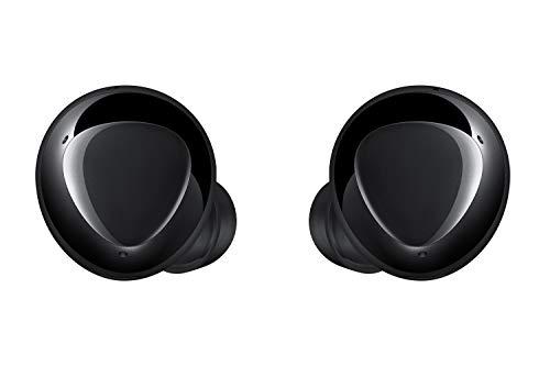 Samsung Galaxy Buds+, kabellose In-Ear Kopfhörer mit Zwei-Wege-Lautsprechersystem, Bluetooth, Sound by AKG, drei Mikrofonen, QI-kompatibel, Schwarz