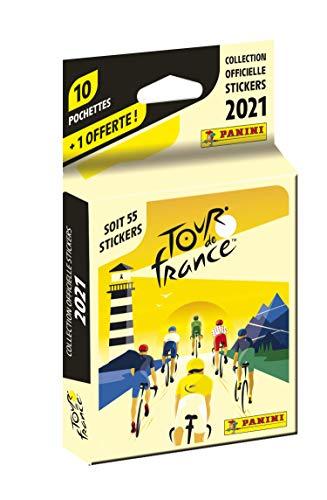 Panini France SA 004190KBF11 offerte Tour de France 2021 Blister 10 + 1 gratis