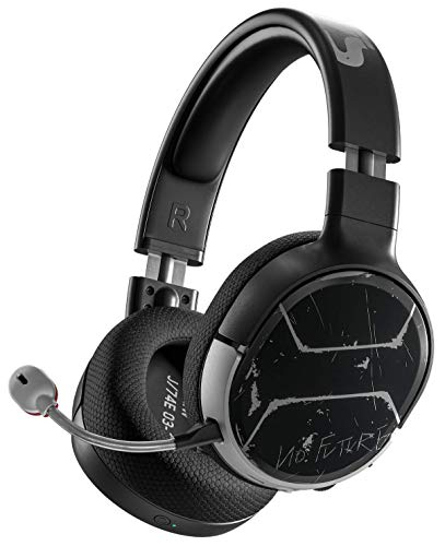 SteelSeries Arctis 1 Wireless – Wireless Gaming Headset – USB-C Abnehmbares – für Xbox, PC, Nintendo Switch, Android – Cyberpunk 2077 Johnny Silverhand Edition