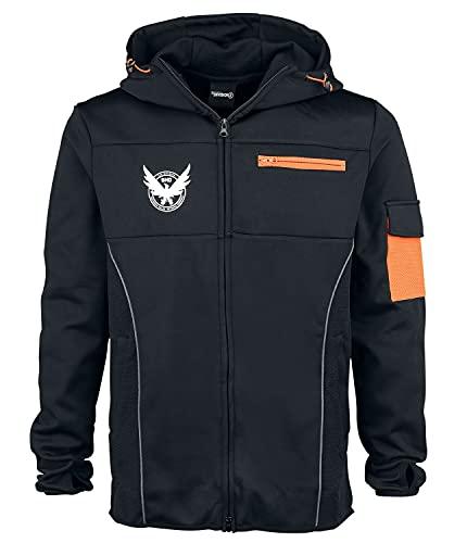 Tom Clancy's The Division M65 Männer Kapuzenjacke schwarz/orange Fan-Merch, Gaming, Kostüme, Ubisoft