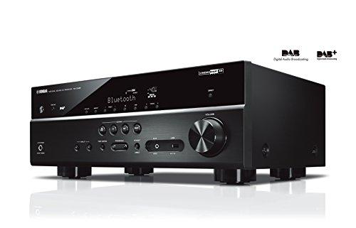 Yamaha RX-D485 AV-Receiver (5.1 MusicCast, Wi-Fi, Bluetooth und DAB Tuner) Schwarz