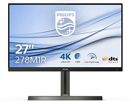 Philips 278M1R 68 cm (27 Zoll) Gaming Monitor (HDMI, DisplayPort, USB Hub, 4ms Reaktionszeit, 3840 x 2160, 60 Hertz, Ambiglow) schwarz